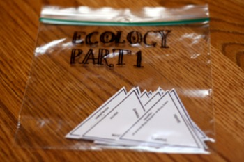 Triangle Review Game for Ecology Part 1