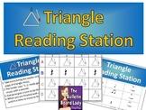 Triangle Rhythm Reading Station