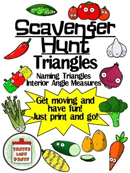 Triangle Scavenger Hunt: Classifying and Interior Angles