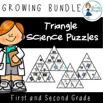 Triangle Science Puzzles : GROWING BUNDLE