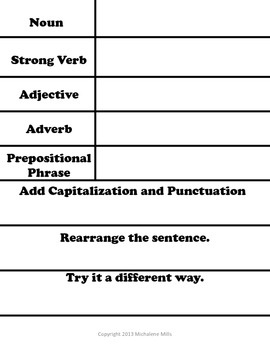 Triangle Sentences Freebie