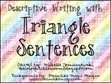 Triangle Sentences for Descriptive Writing