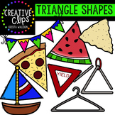 Triangle Shapes {Creative Clips Digital Clipart}