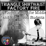 Triangle Shirtwaist Factory Fire Investigation Activity
