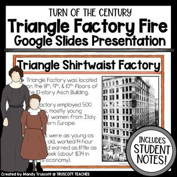 Triangle Shirtwaist Factory Fire PowerPoint