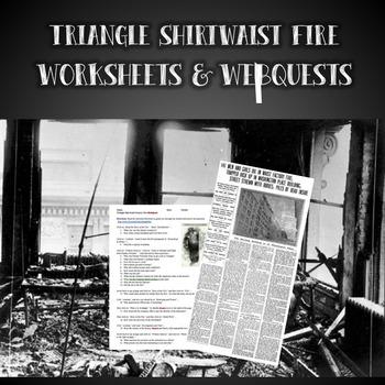 Triangle Shirtwaist Factory Fire Worksheets & Webquest