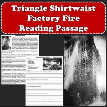 Triangle Shirtwaist Fire - Progressive Movement and Labor Reform Reading Passage