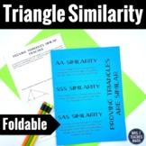 Triangle Similarity Foldable (AA SAS SSS)