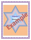 Triangle Similarity Guided Notes, Powerpoint, Homework Included