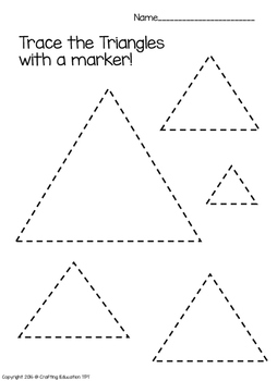 Triangle Sort, Color, Trace and Find