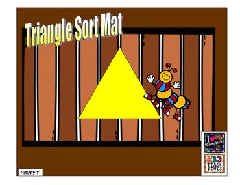 Triangle Sort Mat