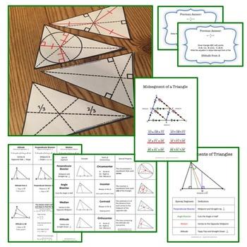 Triangle Special Segments Bundle