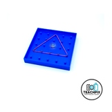 Geoboard Stock Photo
