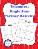 Triangle Sum Partner Activity
