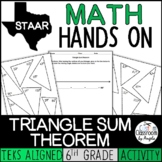Triangle Sum Theorem Activity