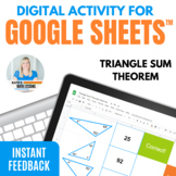 Triangle Sum Theorem Digital Activity for Google Drive