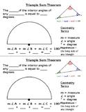 Triangle Sum Theorem Cuttable