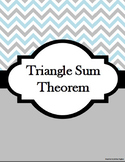 Triangle Sum Theory