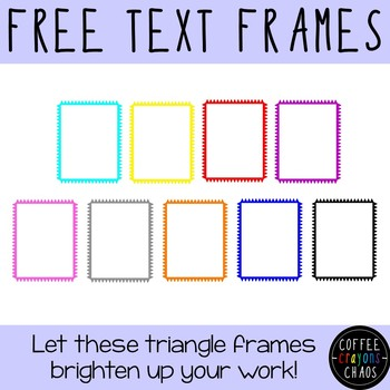 Triangle Text Frames