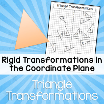 Triangle Transformations Task (Rigid Transformations - Geometry)