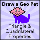 Draw Triangles and Quadrilaterals