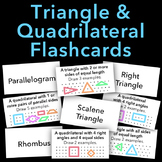 Triangle and Quadrilateral Flashcards