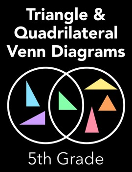 Triangle And Quadrilateral Venn Diagrams By Jennysweet Tpt