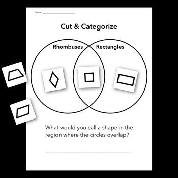 Triangle and Quadrilateral Venn Diagrams