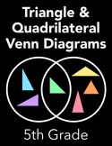 Triangle and Quadrilateral Venn Diagrams