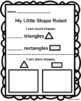 Shape Robot Craft (Triangle and Rectangle)