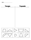 Triangle and Trapezoid Sort