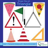 Triangle objects 2D Clip art (shapes)