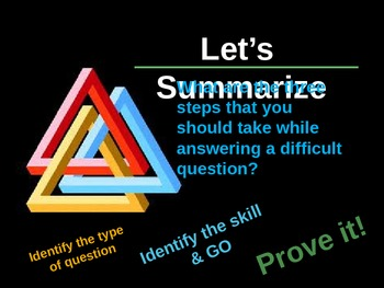 Triangle of Thought - Critical Thinking for Multiple Choice Questions