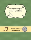 Music Story: Triangle's First Day in the Music Room
