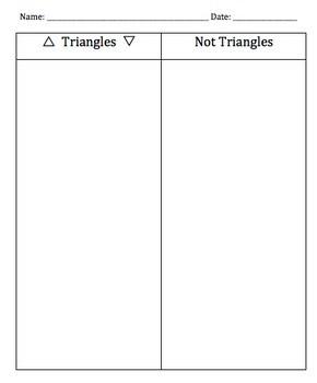 Triangle vs. Non Triangle Sort