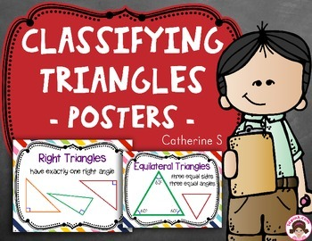 Classifying Triangles Posters