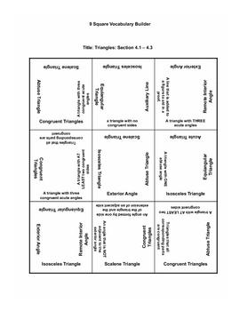 Triangles 2 9 Square