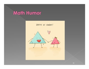Math Posters :Triangles (20 Posters)