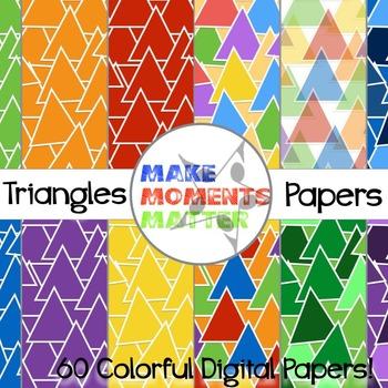 Triangles  --  A Digital Paper Pack!