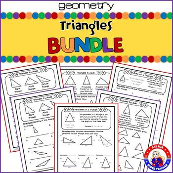 Triangles: Activity Bundle