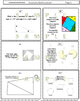 Triangles, Angles and Polygons