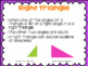 Triangles - Angles and Sides PowerPoint and Exit Ticket