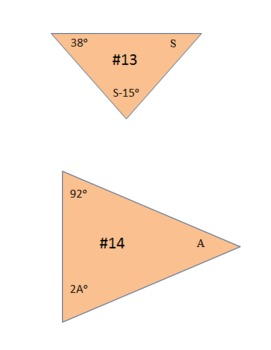 Triangles Around the Room