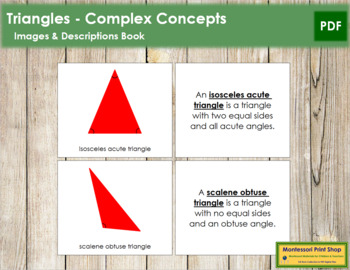 Triangles: Book (Complex Concepts) - Red