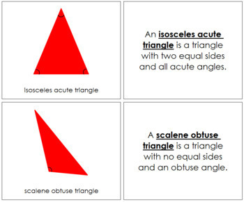 Triangles Book (Complex Concepts) - Red