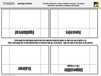 Triangles Card Sort