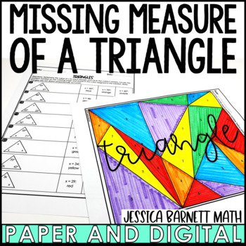 Triangles Coloring Activity