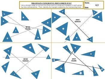 Triangles: Congruent, Then I Drew It #2 !!!