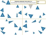 Triangles; Congruent, Then I Drew It -TWO PACK!!!