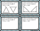 Triangles - Congruent Triangles - Methods and Proofs Task Cards!!!